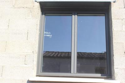 Fenêtre ALU gris