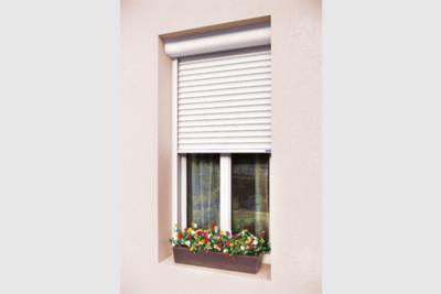 Fenêtre avec volet roulant