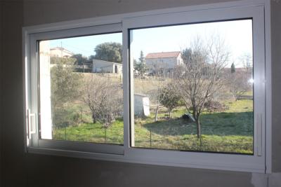 Fenêtre coulissante ALU Blanc