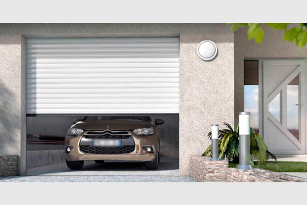 porte de garage enroulable et porte entree gma fenetres With porte de garage enroulable et porte d entrée interieur