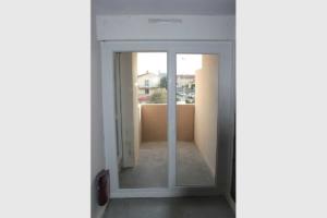 Porte-fenêtre PVC blanc double