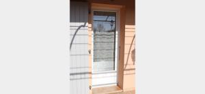 Porte-fenêtre PVC blanc