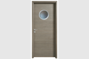 Porte intérieur KYOTO gris galet