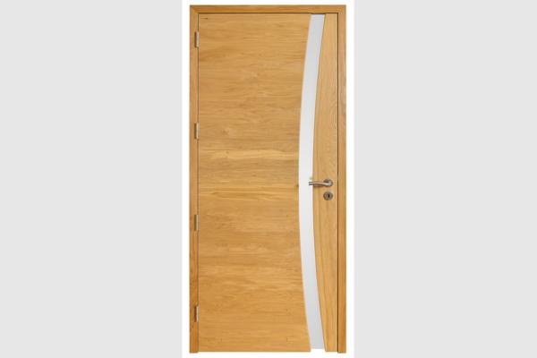 Porte intérieur ROZ Siroco chêne naturel brossé