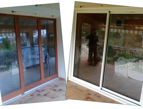 Rénovation d'une porte-fenêtre