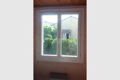 Photo Fenêtre en PVC de coloris blanc
