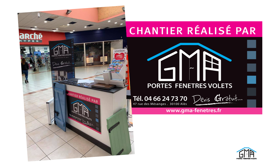 Stand GMA Fenetres Ales