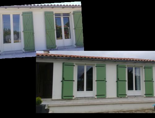 Remplacement des volets battants et portes-fenêtres