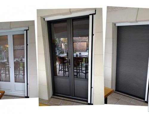 Remplacement de portes-fenêtres en PVC par de l'aluminium