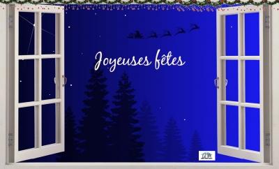 GMA Fenêtres Alès vous souhaite de joyeuses fêtes