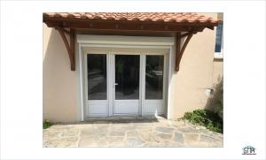 Porte-fenêtre 3 vantaux en aluminium GMA Fenêtres Alès