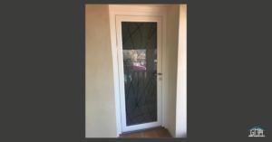 Porte d'entrée vitrage Verrissima GMA Fenêtres Alès
