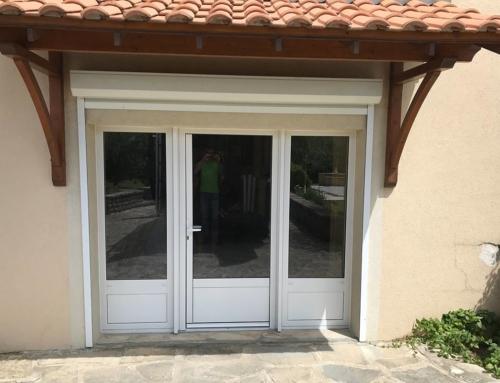 Porte-fenêtre aluminium 3 vantaux