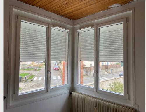 Fenêtres deux vantaux PVC blanc