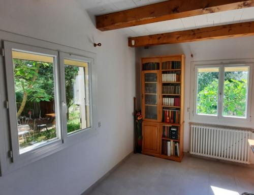 Fenêtres PVC blanc deux vantaux