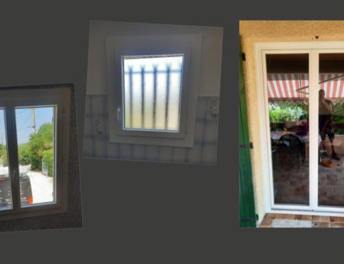Fenêtre et porte-fenêtre en PVC